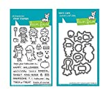 Lawn Fawn Clear Stamp and Die Set - Costume Party - Two Item Bundle