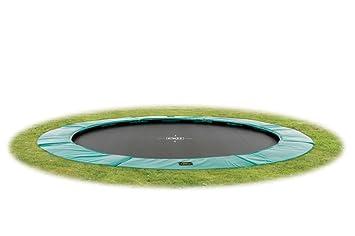 Exit Supreme Bodentrampolin O305cm Grun Amazon De Spielzeug