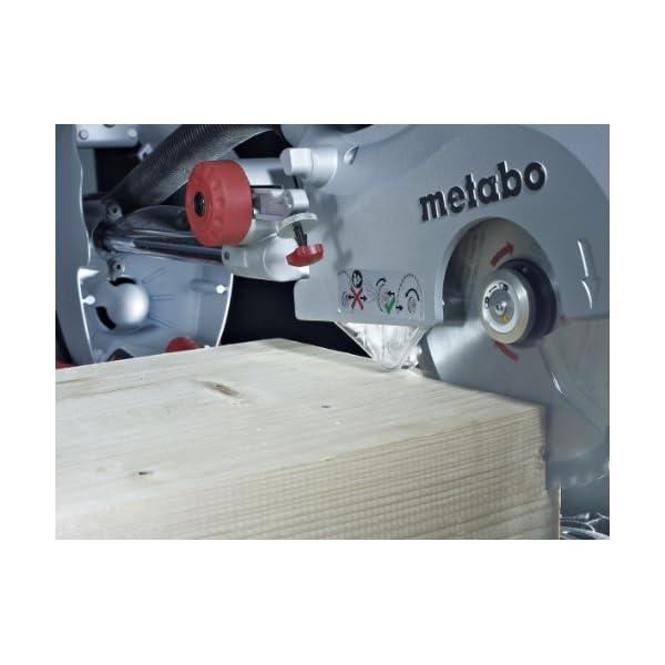 Metabo KGS 315 Plus – 2.2 Kw – Ø 315 mm – Ingletadora telescópica 2200 W disco 315 mm