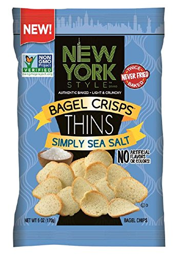 New York Style Bagel Crisps, Roasted Garlic, 7.2 Ounce (Pack of 12) B&G Foods