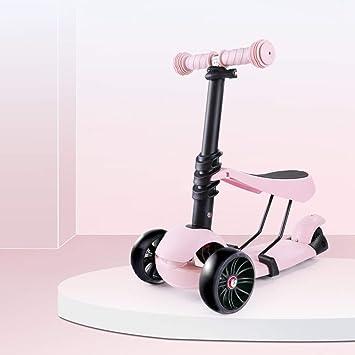 MGIZLJJ Scooters para niños scooter de afeitar para niños de ...