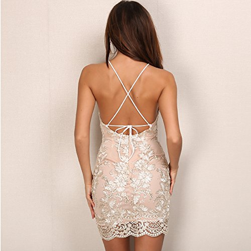 Carolina Dress Vestidos Satinados De Fiesta Sexys Cortos Ropa De Moda Para Mujer y Noche Elegante Casuales VE0051 at Amazon Womens Clothing store: