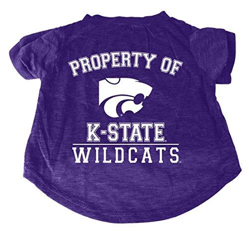 - Kansas State Wildcats NCAA Pet Dog Property of T-Shirt Size Medium