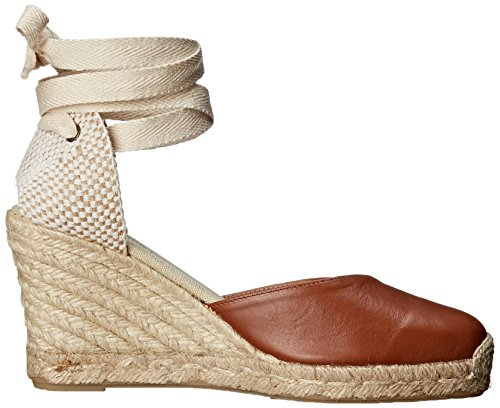 Espadrille Wedge Tan Tall Women's Sandal Leather Wedge Soludos qTfI1HwPw