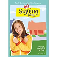 Signing Time Vol. 4 Family, Feelings & Fun