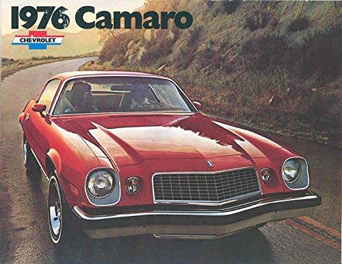 1976 Camaro Sales Brochure Revised January (Camaro Sales Brochure)