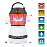 Ocaatech Bug Zapper & Camping Lantern 2200 mAh Light Bulb IP67 Waterproof 2-in-1 Cordless Mosquito Killer Lamp Rechargeable & Portable for Indoor/Outdoors & Emergencies