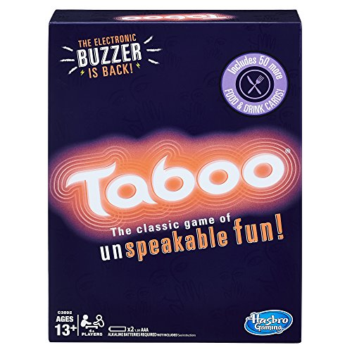 Taboo Party Board Game With Buzzer for Kids