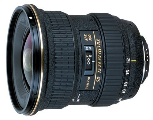 Price comparison product image Tokina Tokina 12-24mm F / 4 PRO DX Autofocus Zoom Lens for Nikon Digital SLR Cameras