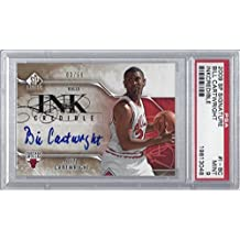 2009 Bill Cartwright Sp Signature Inkcredible Auto Card #i-bc 9 Mint Bulls - PSA/DNA Certified - Basketball Autographed Cards