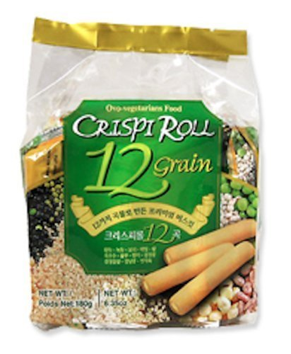 Crispi Roll 12 Grain Biscuit 2 Packs by Ovo-Vegetarian Food