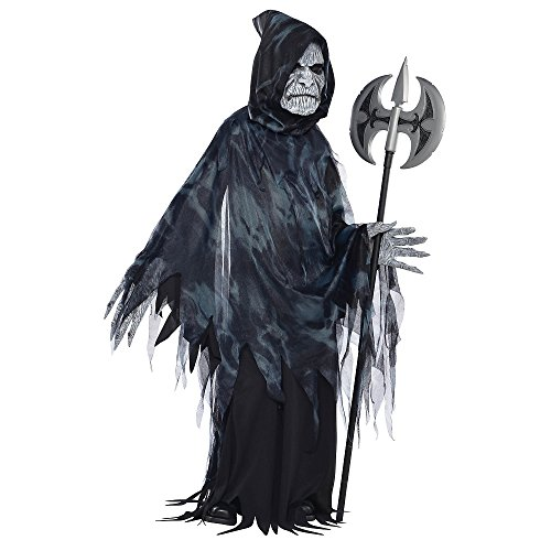AMSCAN Soul Taker Halloween costume for Boys, Large, with Included Accessories -