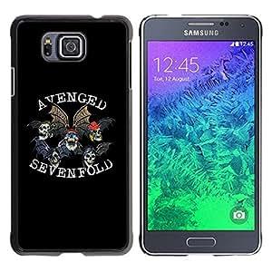 LECELL -- Funda protectora / Cubierta / Piel For Samsung GALAXY ALPHA G850 -- Avenged Sevenfold --