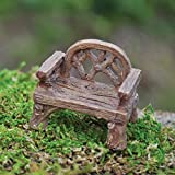 Fiddlehead Fairy Village - Rustic Chair