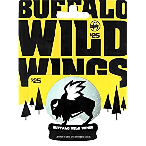Buffalo Wild Wings Holiday Gift Card $25