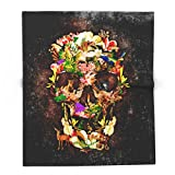 Society6 Animal Kingdom Sugar Skull IPhone 4 4s 5 5s 5c 6, Ipod, Ipad, Pillow Case And Tshirt 88'' x 104'' Blanket