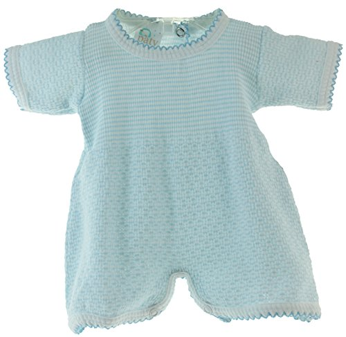 Newborn Boys Cotton Knit Blue Take Home Outfit Paty Inc Baby Clothes