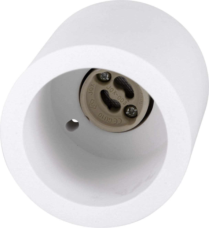 Spot Gips Plafonnier encastrable GU10 230 V rond 70 x 70 mm Montage /Ø 30 mm