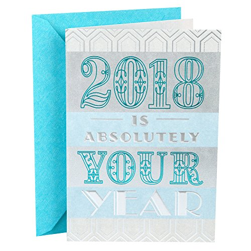 Hallmark Graduation Greeting Card (2018 Is Absolutely Your Year)