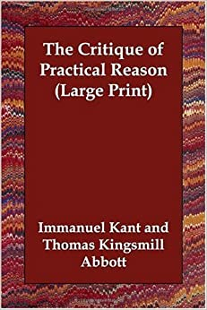 Book The Critique of Practical Reason