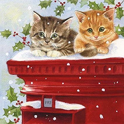 invierno 33 x 33 cm para oto/ño Servilletas de papel para fiestas navide/ñas Navidad. aprox de No/ël