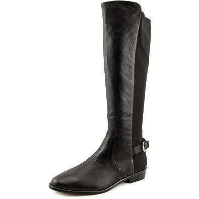 ff9169910f336 Amazon.com | Coach Women's Washed Tumbled Black Leather Liza Stretch ...