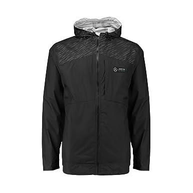 Mercedes Benz Jacket >> Amazon Com Mercedes Benz Amg Petronas Formula 1 Men S Black Rain