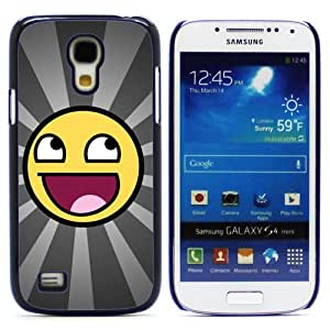 CASEPRADISE Cute Printing Series Hard Rubberized Plate Back And Plastic Etui Case Coque Hard Cover For Samsung Galaxy S4 Mini I9190