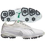 PUMA Titantour Golf Shoes White Gray Violet Medium 14