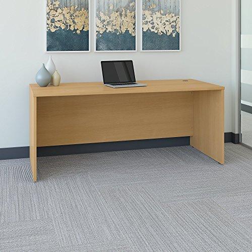 Oak Wide Desk - 6