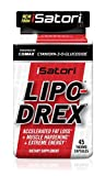 iSatori LIPO-DREX Fast Acting Total Body Fat Loss Thermogenic with Muscle Maintenance - 45 Capsules