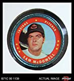 1971 Topps Coins # 86 Sam McDowell Cleveland Indians (Baseball Card) Dean's Cards 3 - VG Indians