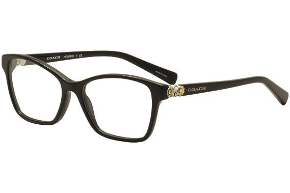8d5c237cd8bc1 Amazon.com  Coach Women s HC6091B Eyeglasses Black 53mm  Clothing