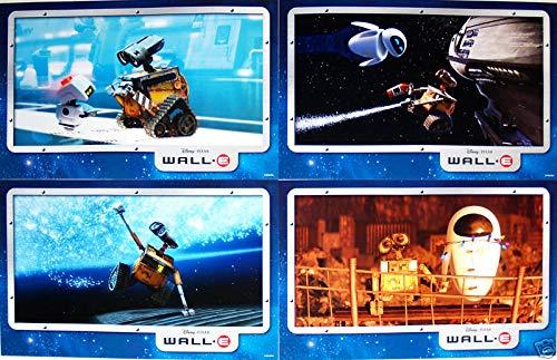 Disney Wall E Walle 4 Lithographs Set