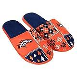 FOCO Denver Broncos Ugly Slide Slipper Medium