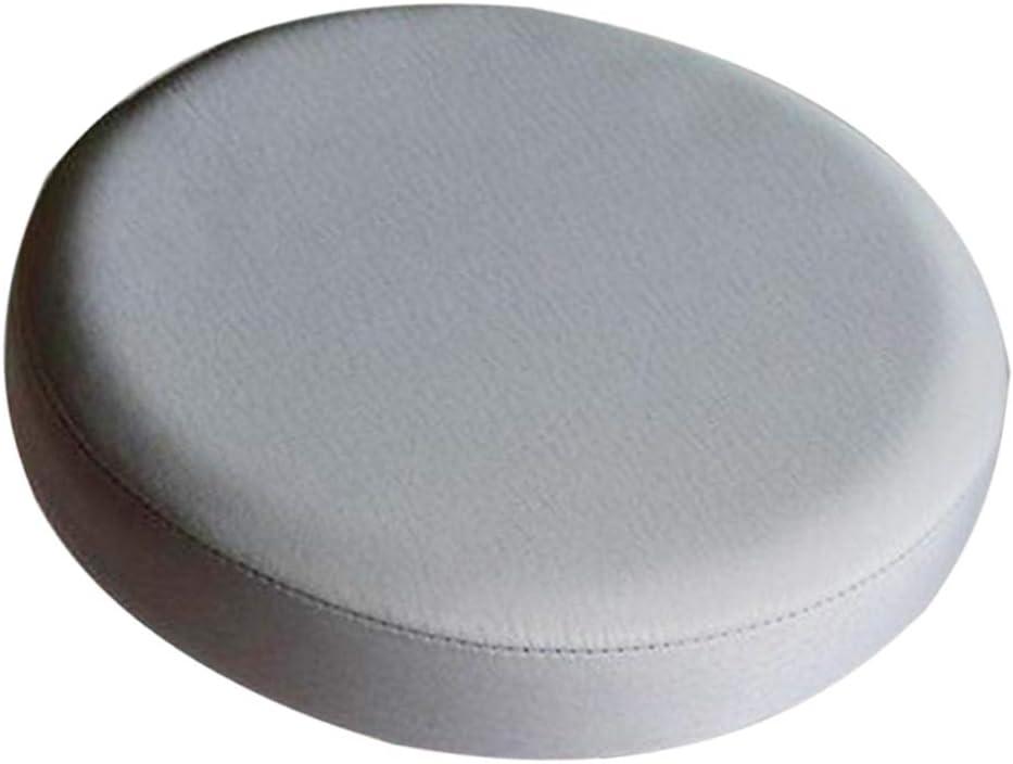Runde Sitzbezug Kissen Stuhlbezug f/ür Barhocker Stuhl Beige/_30x10cm