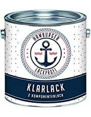 Hamburger Lack-Profi 2K blanke lak glanzend kleurloos transparant in set (2,5 l)