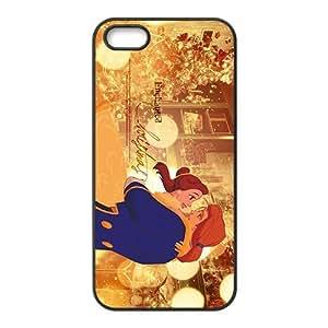 Wish-Store Beauty the Beast disney princess Phone case for iPhone 5s Kimberly Kurzendoerfer