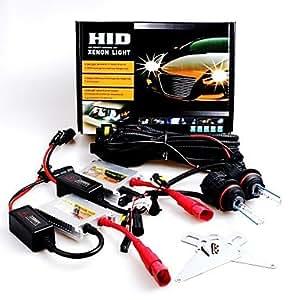 DK 12V 35W 9007 High / Low 6000K Slim Aluminum Ballast HID Xenon Headlights Kit