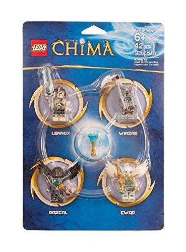 LEGO Legends of Chima Set #850779 Minifigure Accessory Set [Lennox, Razcal, Ewar & (Lego Chima Book Minifigure)