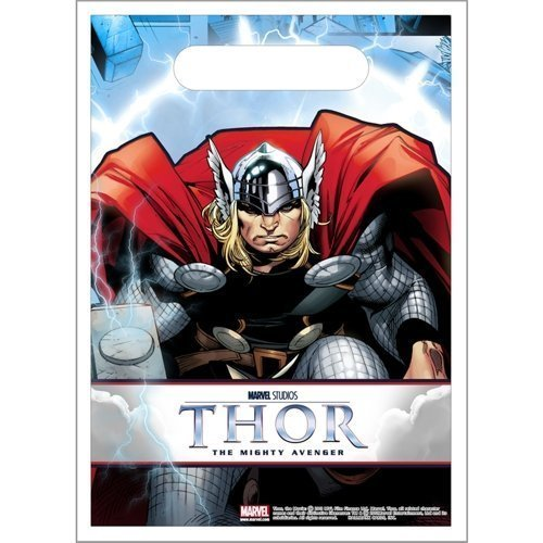 Thor Party Favors - Goody Bags - Thor Treat Bag