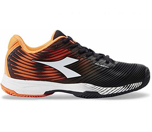 Diadora–Competition 4clay Hombre Zapatillas de tenis, naranja, 47 naranja