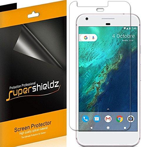 [6-Pack] Supershieldz for Google Pixel Screen Protector, Anti-Glare & Anti-Fingerprint (Matte) Shield + Lifetime Replacements Warranty- Retail Packaging