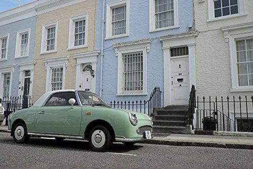 LAMINATED 36x24 inches POSTER: Elegant Car Notting