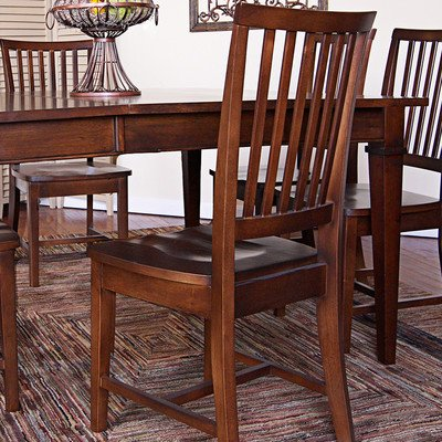 Hudson Dining Chair Finish: Chestnut