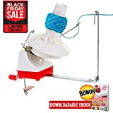 On Yarn Ball Winder | Effective Jumbo Size Knitting Yarn Winder | Hefty Hand Operated Yarn Winder | Outstanding Solution for Your Yarn Storage, Sewing, Knitting, and Crocheting Needs