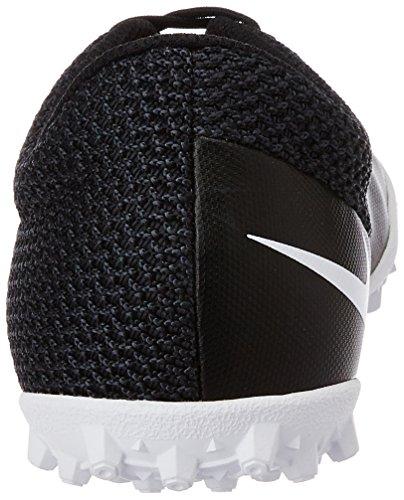Nike Jr Mercurialx Pro Ic cubierta de zapatos de fútbol Black, Hot Lava, White