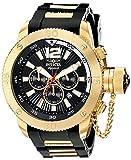 Invicta Signature II Russian Diver Black Dial Chronograph Mens Watch 7427