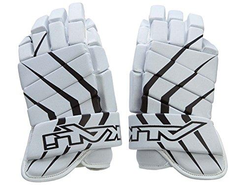 Gloves Hockey In Line (Alkali Hockey RPD Lite Glove, White/Black, 10-Inch)