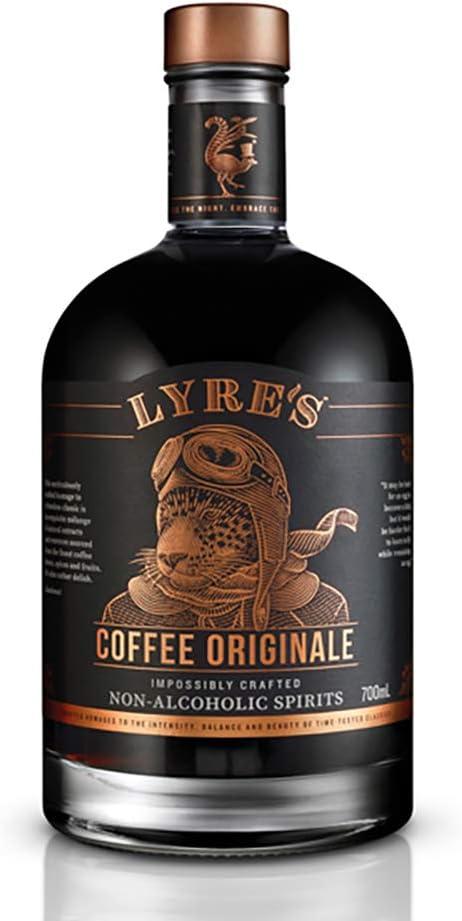 Liquore di caffè lyre`s - coffee originale - distillato analcolico 700ml